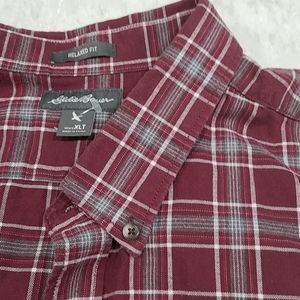 Men's XL Tall Flannel Eddie Bauer Shirt